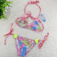 Wholesale FINAL SALE For Y Girls Swimwear Princess girls Bikini Children Swimsuit Kids Tankini Bathing Suit Beachwear
