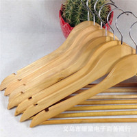 Wholesale 2015 Solid Wood Hangers Clothing Cheap Hangers Coat Hanger Clothes Pegs Home Essentials Outdoor Airing Supplies Percha Racks