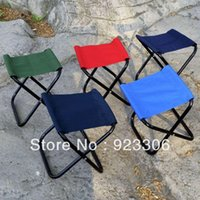 Cheap Free Shipping Horse outdoor small mazha fishing chair beach chair outdoor portable bench Wholesale 50pcs lot X76 0428ldx