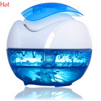 usb aroma humidifier - New USB Portable Mini Water Humidifier Air Essential Oil Diffuser Aroma Mist Maker Blue Home Office Ultrasonic Humidifier Beauty SV000646