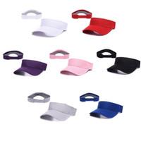 Wholesale 2016 Brand sport Teams Solid Visor White Black Caps Hats Snapback Caps Adjustable Teams Visor Hats Accept mix order