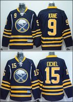 american hockey jersey - Buffalo Jack Eichel Evander Kane American Premier Hockey Jerseys Ice Winter Home Away Jersey Stitched Authentic
