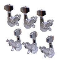 Wholesale Superior Guitar Tuning Pegs Tuning Pegs Chrome Locked String Guitar Tuning Pegs for Folk Acoustic Electric Guitar In stock MU0803