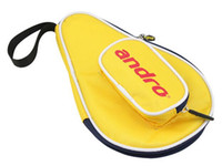 Wholesale Andro gourd Shape Table Tennis cover pingpong bag three colors