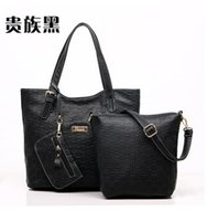 Wholesale Buy one get Genuine leather Fashion multifunctional real leather lady handbag High Quality cowhide leather handbag