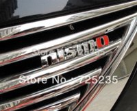 Wholesale Car NISMO D Metal Front Hood Grille Badge Grill Emblem Auto Stickers stickers car logo