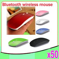 Wholesale Laptop bluetooth thin wireless mouse smarten g appearance bluetooth mouse girls mouse ZY SB