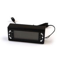 Wholesale LCD DC V Digital Alarm Car Clock Thermometer Temperature Display dropshipping