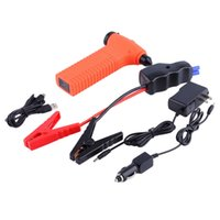 auto changers - orange Auto Multi Function Car Vehicle Jump Starter Emergency Hammer Power Charger
