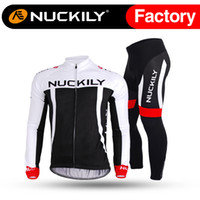 best cycling tights - Nuckily Simple bicycle long sleeve soccer jersey set Best selling with nice quality shirt and tight cycling set for men CJ135 CK135