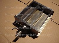 concrete molds - Steel Three Gang Concrete Cement Prism Test Molds x40x160mm