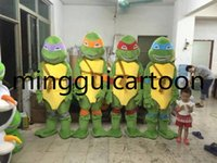 Wholesale Hot Teenage Mutant Ninja Turtles mascot Teenage Mutant Ninja Turtles Adult Size Character Costume For Party Fancy Dress