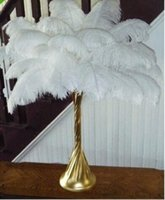Wholesale Top Selling White Ostrich Feathers inches cm for Wedding Decor or Table Decor