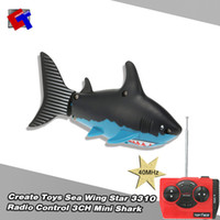 Wholesale New Children Toy Create Toys Sea Wing Star MHz Radio Control CH Mini Shark RM5371