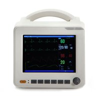 Wholesale 8 inch ICU CCU Parameter Patient Monitor NIBP SPO2 ECG TEMP RESP PR