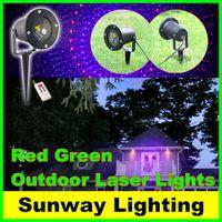 Wholesale New Remote Controller elf light christmas outdoor garden laser IN1 christmas garland laer waterproof lights outdoor decoration red green