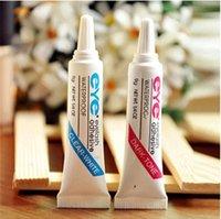 beautiful dark eyes - 5pcs Eyelash adhesive waterproof clear white and dark tone Beautiful eye glue makeup tools false eyelash glue