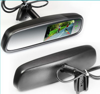 special car rearview camera - OE styled touch screen car rearview mirror with back up camera special for Subaru Forester from to