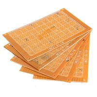Wholesale New x15cm Prototype Paper Boards PCB Blank Printed Circuit Board DIY