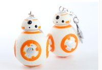 bb purses - Star War keychains Star wars The Force Awakens BB Key chain Episode VII Movie Toy car keyring Bag Purse Pendant Accessory