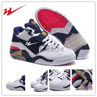 barkley charles shoes - Drop Shipping Top Brande Onemix Charles Barkley Air Force Olympic Men s Basketball Sport Shoes White White Midnight Navy Metallic Gold