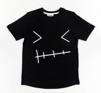 Wholesale Boys And Girls Babies Children T shirts Clothing Summer Short Sleeve Cotton Kids Baby T shirts Clothes