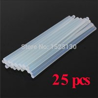 Wholesale High Quality mmx200mm Clear Glue Adhesive Sticks For Hot Melt Gun Car Audio Craft transparent For Alloy Accessories