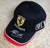 Wholesale Outdoor sports baseball cap hat embroidery racing motorcycle F1 cap
