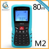 Wholesale Mileseey M2 Handheld Rangefinder Laser Distance Meter Digital Laser Range Finder Laser Tape Measure M