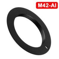 Wholesale M42 Lens TO NIKON AI Adapter D3000 D5000 D90 D700 D300S D60 D3X Metal M42 AI d90 nikon