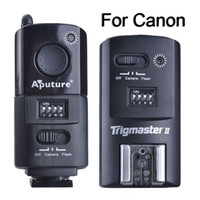 Wholesale Aputure Flash Trigger Trigmaster II MXII C Channels G Wireless Remote Control Transmitter Receiver For Canon EOS Camera