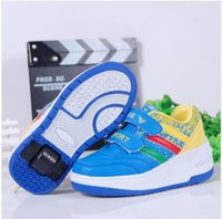 roller skate shoes - 2015 new children s sneakers with roller skates children of athletic shoes Boy Girls automatic Heelys wheel
