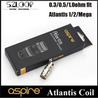 Cheap Sub Ohm Coil Best Aspire Atlantis