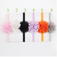 Cheap Hair Accessories For Infant Baby Lace Big Flower Pearl Princess Babies Girl Hair Band Headband Baby's Head Band Kids Hairwear