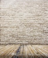 Wholesale 5X7ft x2 m customized bricks wall photography backdrops thin vinyl backdrops for photography photo background for studio cm