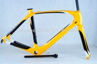 Wholesale WORKS Carbon Road Bike Frame Mountain Bike Frame Style of Painting carbon fiber road bike frame Bicycle MTB