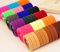 Wholesale 2015 Summer Style Fashion New Girls Elastic Hair Tie Band Rope Ring Scrunchie Ponytail Holder