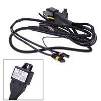 Wholesale Car Telescopic Wiring Wire Harness H4 XENON HID KIT Bi Xenon Loom Car Relay Telescopic High Low Plastic W