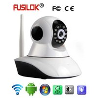 Wholesale Robot p HD camera infrared night vision camera high definition home WiFi Plug and Play
