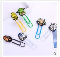 Wholesale Clips star wars Darth Vader Death CM Bookmark School Stationery Office Supply Paper Clips Binder Clips Stormtrooper Dolls Memo clips A552