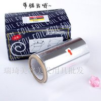 aluminum rolled products - Thickening hair product aluminum foil stanniol barber tools aluminum foil roll aluminum foil paper hair style