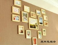 Cheap 17 box picture heart wall photos of wall picture wall wood picture wall picture frame