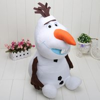 Unisex big clearance sale - Clearance Sale inch cm Frozen OLAF the Snowman Plush Toy Soft Doll Stuffed Toy New Christmas Gifts