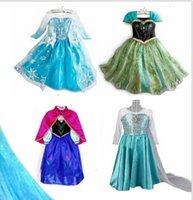 Cheap Frozen Elsa dress Best cartoon costume dress