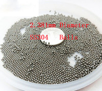 Wholesale B5 mm SS304 Solid Balls G100 Accuracy Stainless steel Bearing Ball