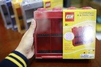 acrylic model display case - Acrylic Small Minifigures Display Case Plastic Show Box Building Blocks Sets Model miniFiguresToys For Children