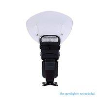 Wholesale Universal Flash Bounce Camera White Reflector Card Flash Diffuser for Canon Nikon Yongnuo Speedlite Flash order lt no track