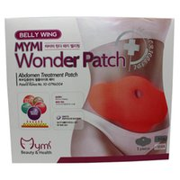 Wholesale 5pcs pack MYMI Wonder Slim patch slimming belly lose weight Abdomen fat burning patch chili slim patch cellulite