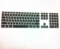 apple imac wholesale - For Apple iMac keyboard Desktop Color Silicone keyboard Cover Skin Protector with a numeric keypad for Apple iMac G5 G6