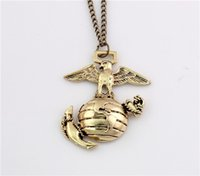 anchor globe - Charming Vintage Style Retro Bronze Globe Anchor Bird Pendant Necklace Long Chain Women Gift